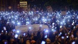 Orban Protest gegen Internetsteuer 2